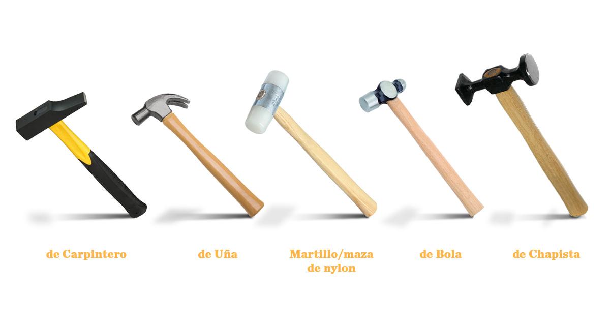 Los cinco tipos de Martillos más usados I Epidor Technical ...