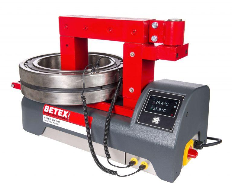La nueva generación de calentadores por inducción Betex con sistema de control Delta-T.