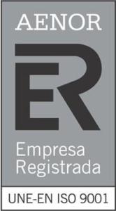ISO 9001 - AENOR Empresa registrada - Epidor TD