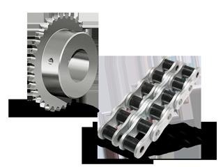 Cadenas y Piñones - Catálogo de productos de transmisión de potencia - Epidor TD
