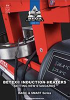 Catálogo calentarores de inducción BLF SLF Betex
