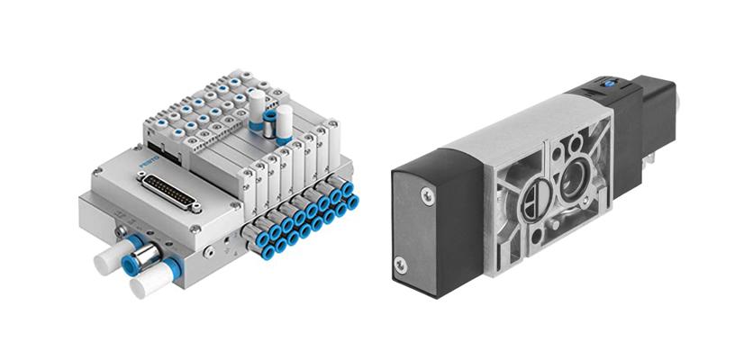 Terminales de válvulas eléctricos y neumáticos para automatización de procesos