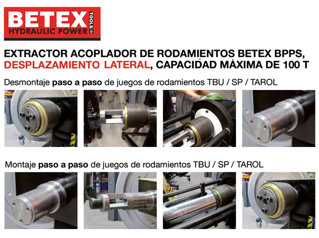 Montaje extractor Betex