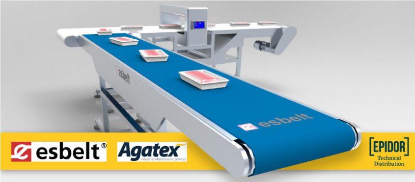 banda transportadora Agatex