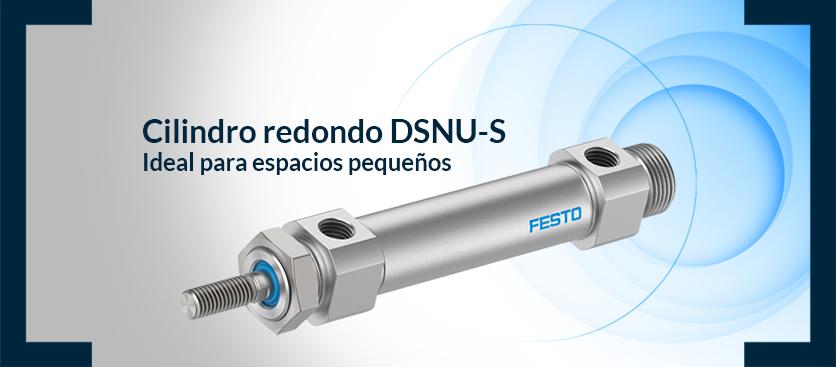 Cilindro redondo DSNU-S Festo